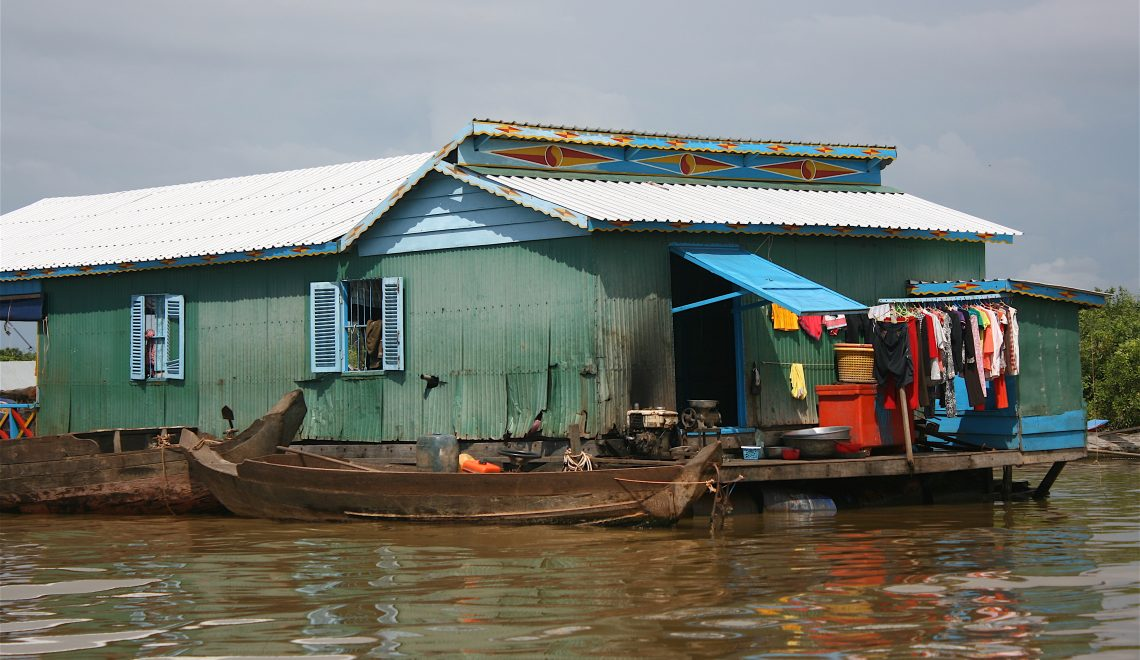 Floating Villages on the Tonlé Sap