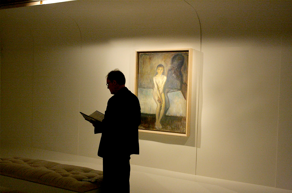art, painting, Puberty by Edvard Munch, puberty, Edvard Munch, Munch, Munch Museum, Munch Museet, artist, painter, art in Oslo, museums, travel, Norway, Norway in a Nutshell, Edvard Munch Scream, Edvard Munch Puberty, history, Edvard Munch Sculpture