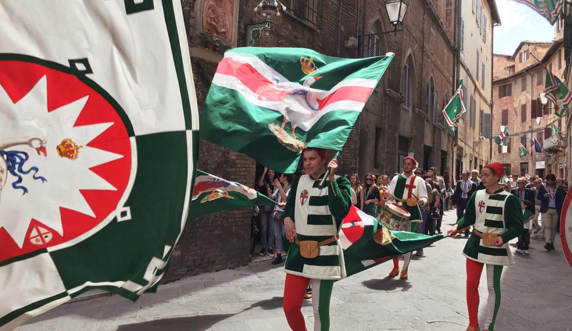 Celebrating Siena