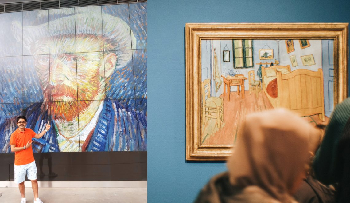 Wandering with Van Gogh